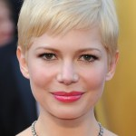 Michelle Williams Sweet Subtly Styled Pixie Cut