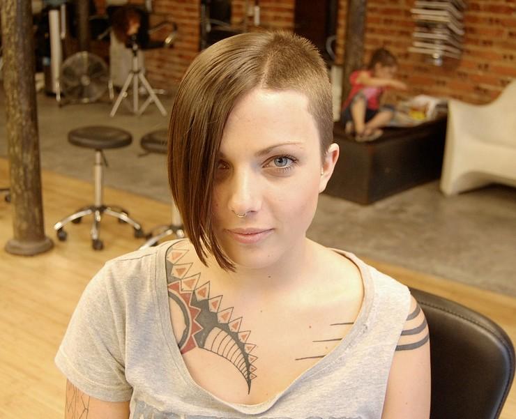 Modern Asymmetric Haircut for Women