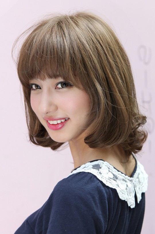 Most Popualr Short Japanese Bob Hairstyle