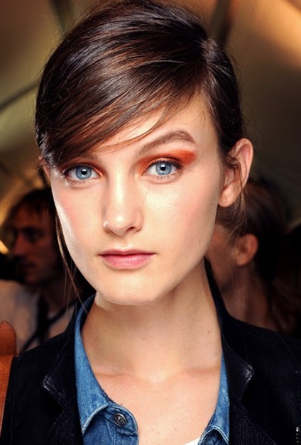 Office Women Hairstyles with Bangs 2013