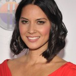 Olivia Munn Short Black Bob Hairstyle