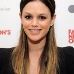 Rachel Bilson Cute Long Sleek Ombre Hair