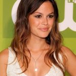 Rachel Bilson Long Ombre Hairstyle with Bangs