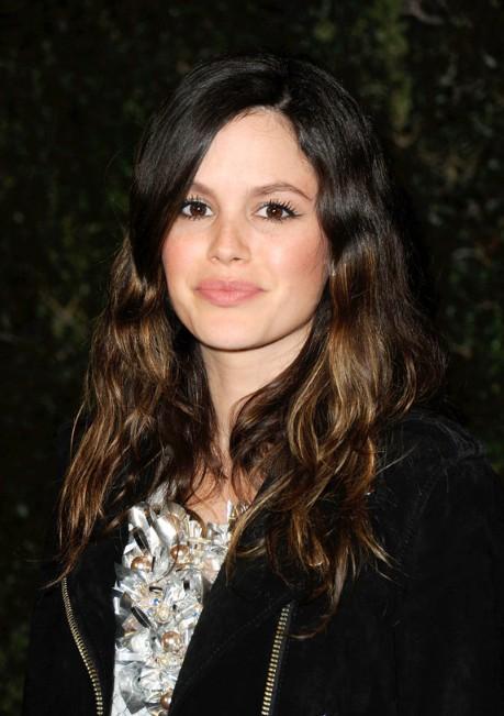 Rachel Bilson Long Wavy Highlighted Hairstyle