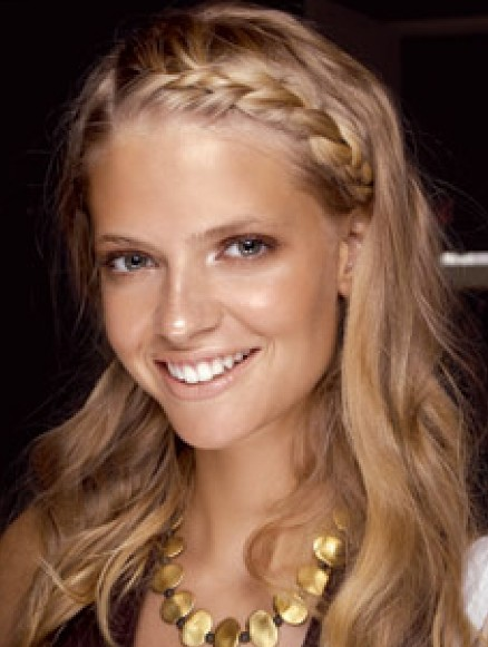 Excellent One Sided Braid Hairstyles Weekly Hairstyle Inspiration Daily Dogsangcom