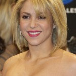 Shakira Short Blonde Bob Hairstyle