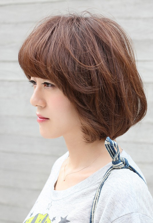 Yummy Chocolate Coloured Short Bob Hairstyles Weekly