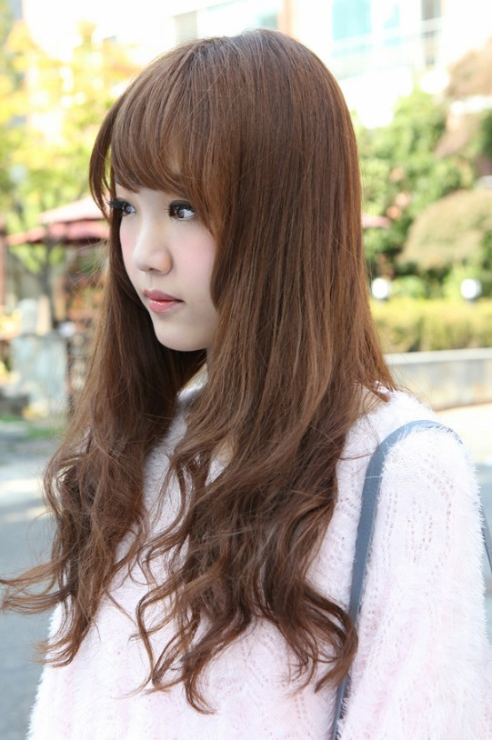Enjoyable Side View Of Korean Hairstyles 2013 Hairstyles Weekly Hairstyle Inspiration Daily Dogsangcom