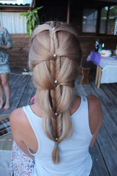 Stylish Fishtail Braid