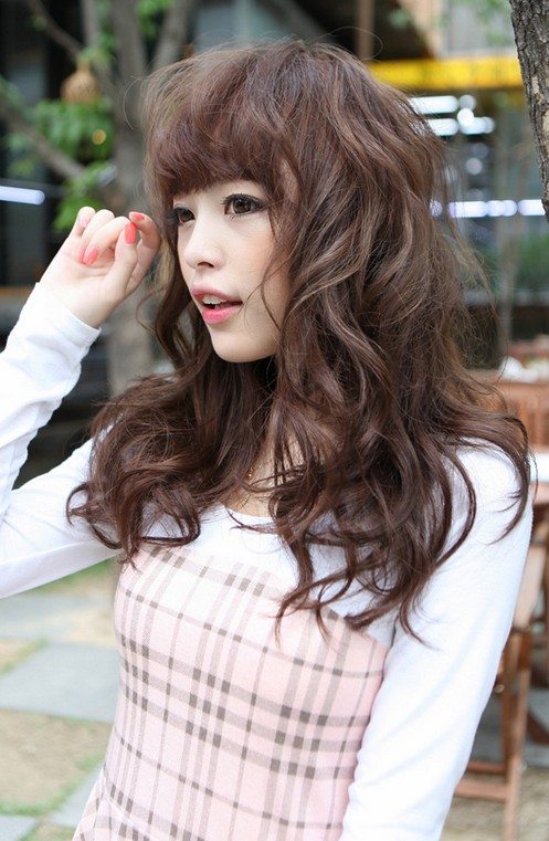Sweet Asian Long Hairstyles 2017