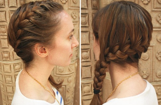 Sweet Side French Braid