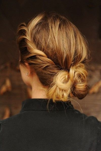 Shinion Hair Style Youthful Timeless Twisted Chignon Updo  Hairstyles Weekly