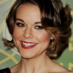 Tina Majorino Sweet Curly Bob Hairstyle 2013