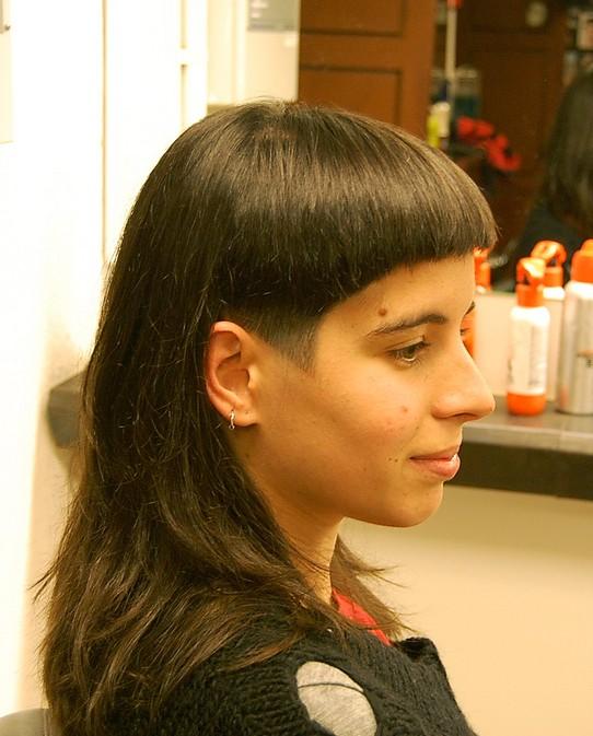 Remarkable Dramatic Long And Short Haircut With Bangs Hairstyles Weekly Short Hairstyles Gunalazisus