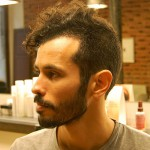 Trendy Short Curly Haircut for Men 2013