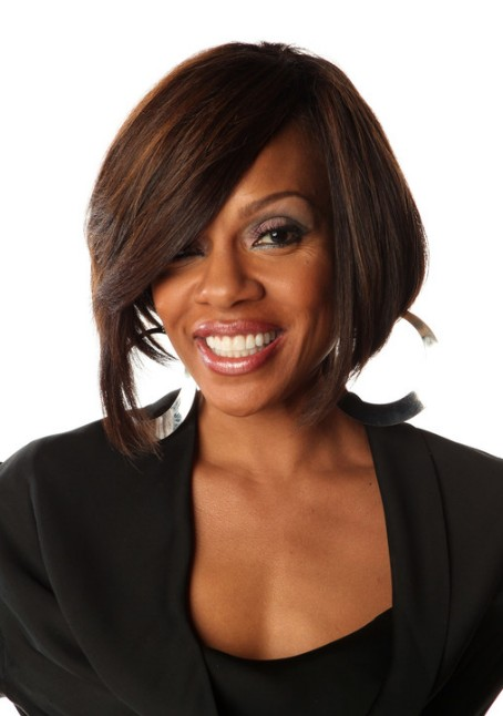 Picture of Wendy Raquel Robinson Graduated Bob Hairstyle /Getty Images ...