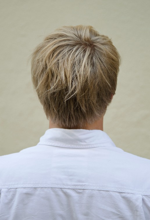 Stupendous Back View Of Short Haircut For Men 2013 2014 Short Hairstyle Short Hairstyles Gunalazisus