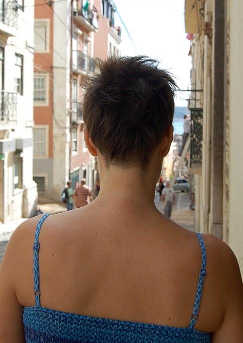 Fantastic Cute Amp Spicy Asymmetric Short Cut Easy Care For Fine Hair Short Hairstyles For Black Women Fulllsitofus