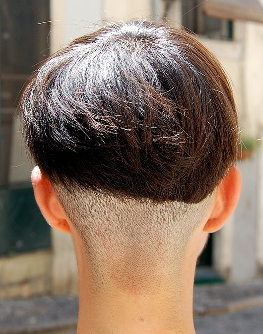 Miraculous Back View Of Modern Assymetric Bob Haircut Hairstyles Weekly Hairstyles For Women Draintrainus