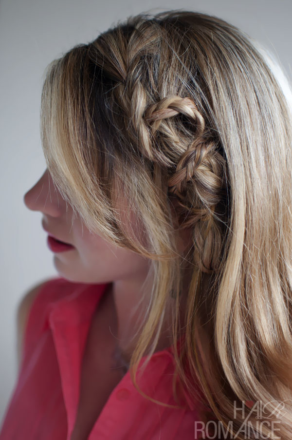 Beautiful Casual Mini Twist Braid Hairstyle