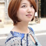 Best Short Auburn Haircut for Women - Layered Bob Cut for Busy Ladies