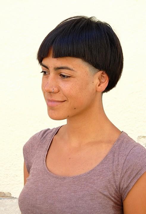 Bold Asymmetric Bob Haircut