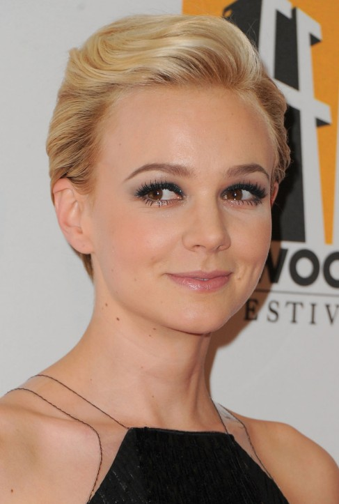 formal comb back pixie cut - carey mulligan hairstyle - hairstyles