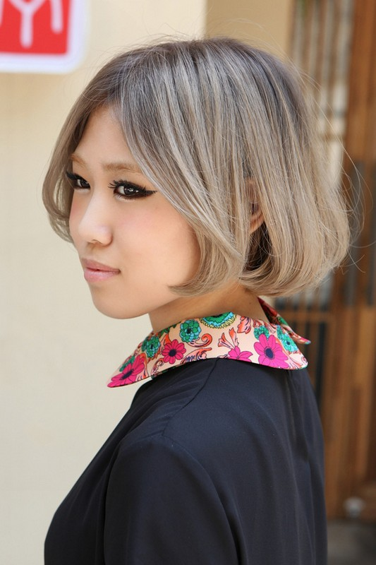 Light Blonde Hair Asian