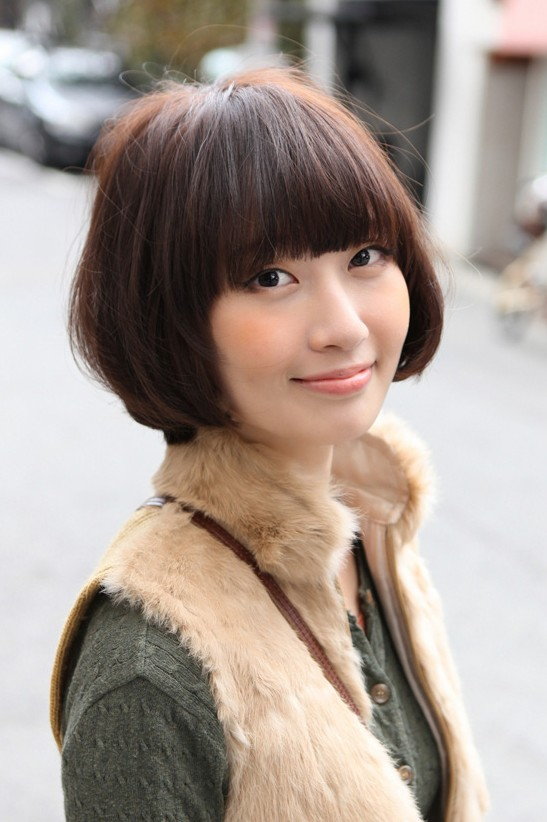 Cute Asian Bob Hairstyle 2013 Hairstyles Weekly