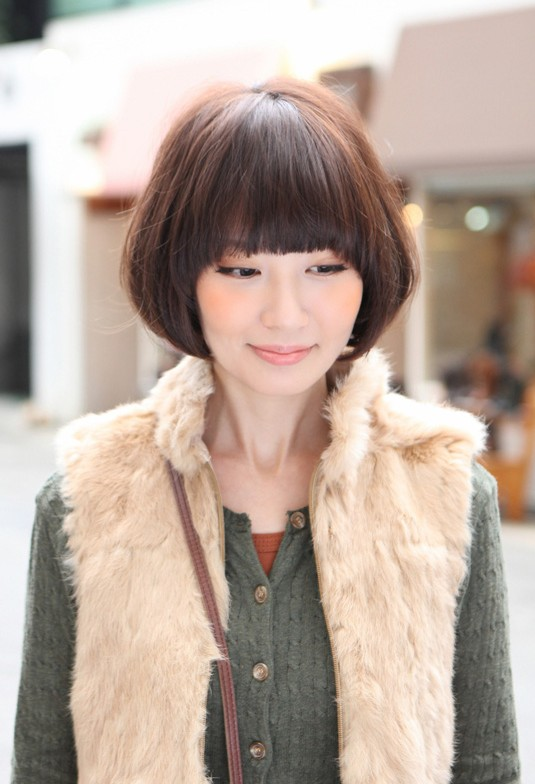 Cute Asian Bob Hairstyle: Asian Women Hairstyles 2013
