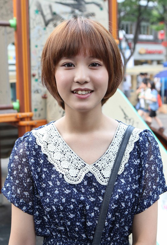 Cute Kpop Hairstyle : The gallery for gt kpop hair girl bangs