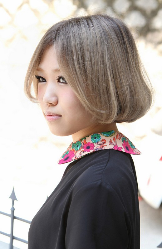 Cute Short Asian Bob Haircut 2013