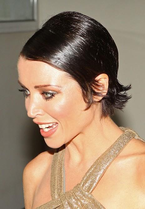 Dannii Minogue Sleek Sassy Pixie Haircut for Women