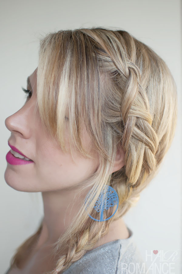 Holiday Hairstyle Ideas Trendy Double Dutch Braids into