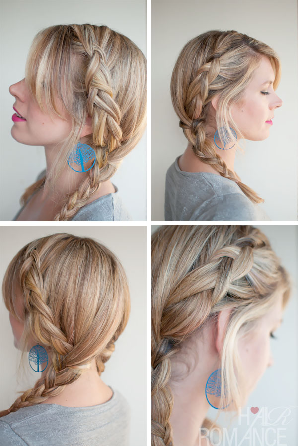 Pleasant Holiday Hairstyle Ideas Trendy Double Dutch Braids Into Pigtails Hairstyles For Men Maxibearus