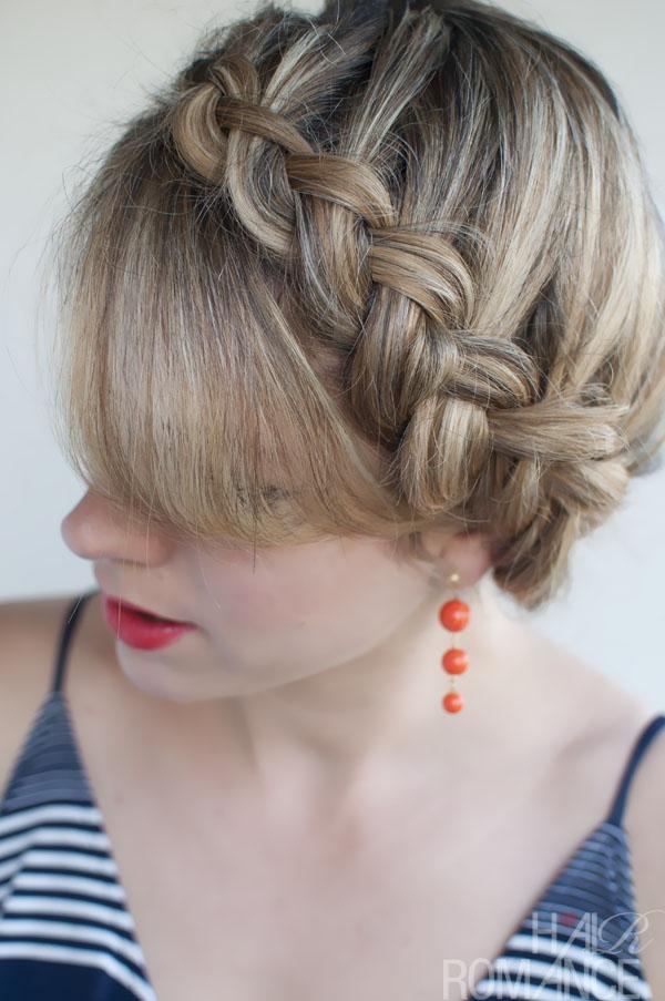 Popular Braided Hairstyles The Dutch Crown Braid