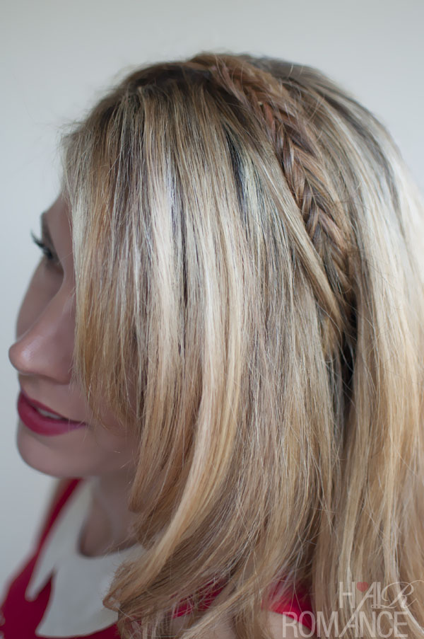 Groovy Simple Easy Daily Hairstyle Fishtail Headband Braid Hairstyles Hairstyles For Men Maxibearus