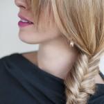 Side Fishtail Braid - Simple Easy Side Braid for Summer