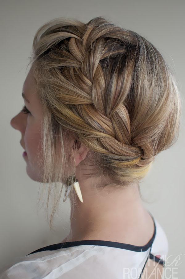 New Stylish French Crown Braid Beautiful Braided Updo Hairstyles
