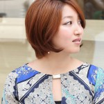 Hottest Short Bob Haircut 2013 - Coppery Bob Hairstyle for Short Hair