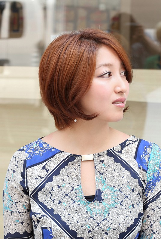 Swell Hottest Short Bob Haircut 2013 Coppery Bob Hairstyle For Short Short Hairstyles For Black Women Fulllsitofus