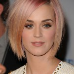 Katy Perry Pastel Bob Hairstyle
