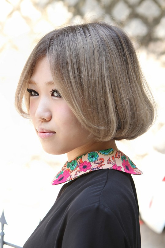 Kawaii Short Bob Haircut Latest Popular Japanese Hairstyle For Girls
