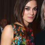 Keira Knightley Classic Unpolished Bob Hairstyle