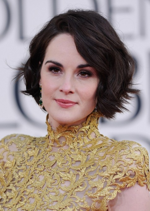 Michelle Dockery Short Wavy Bob Hairstyles 2013 Top 10 Women Hairstyles for 2013