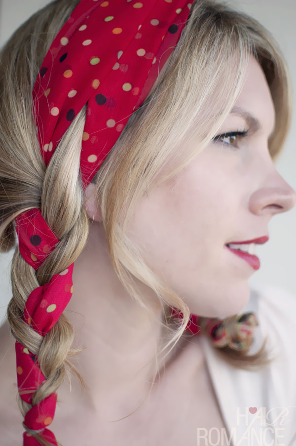 Perfect Braids for Holidays - Simple Easy Polka Dot Pigtails