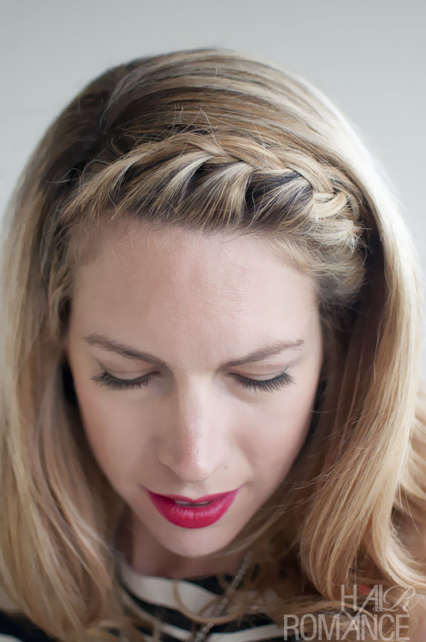Hair Inspirations Pretty French Braided Fringebangs Hair Trends