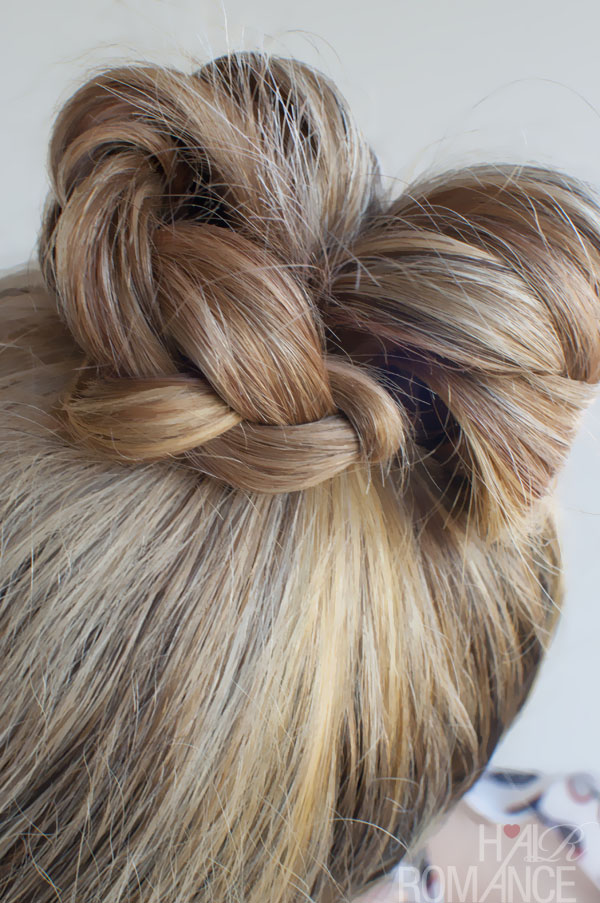 Pretty Top Knot Braided Twist