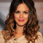 Rachel Bilson Casual Ombre Toned Long Curly Hairstyle 2013 - 2014