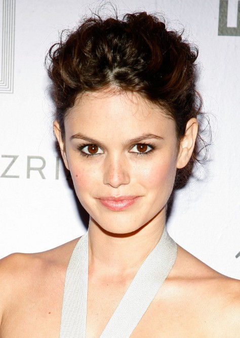 Rachel Bilson Classic Bun with Natural Texture